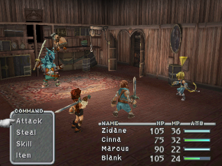 Screenshot Thumbnail / Media File 1 for Final Fantasy IX [NTSC-U] [Disc1of4]
